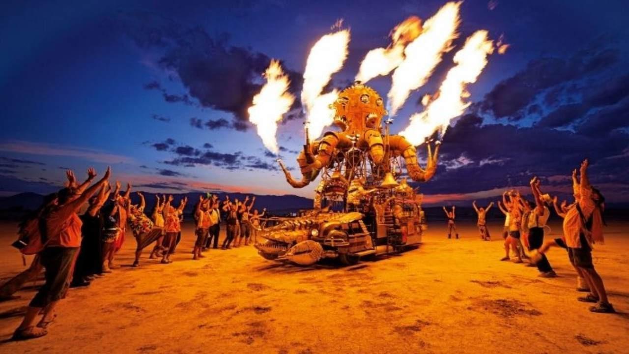 Burning Man festivalibu yıl da iptal edildi