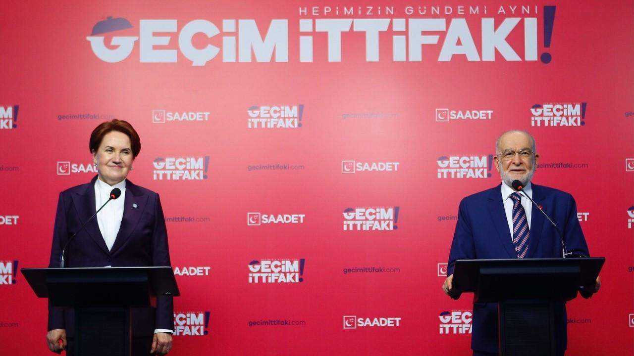 Akşener'den Saadet Partisi'ne 'hayırlı olsun' ziyareti