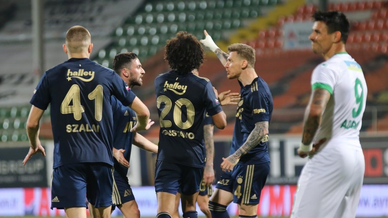 Fenerbahçe zirvenin 5 puan gerisine düştü