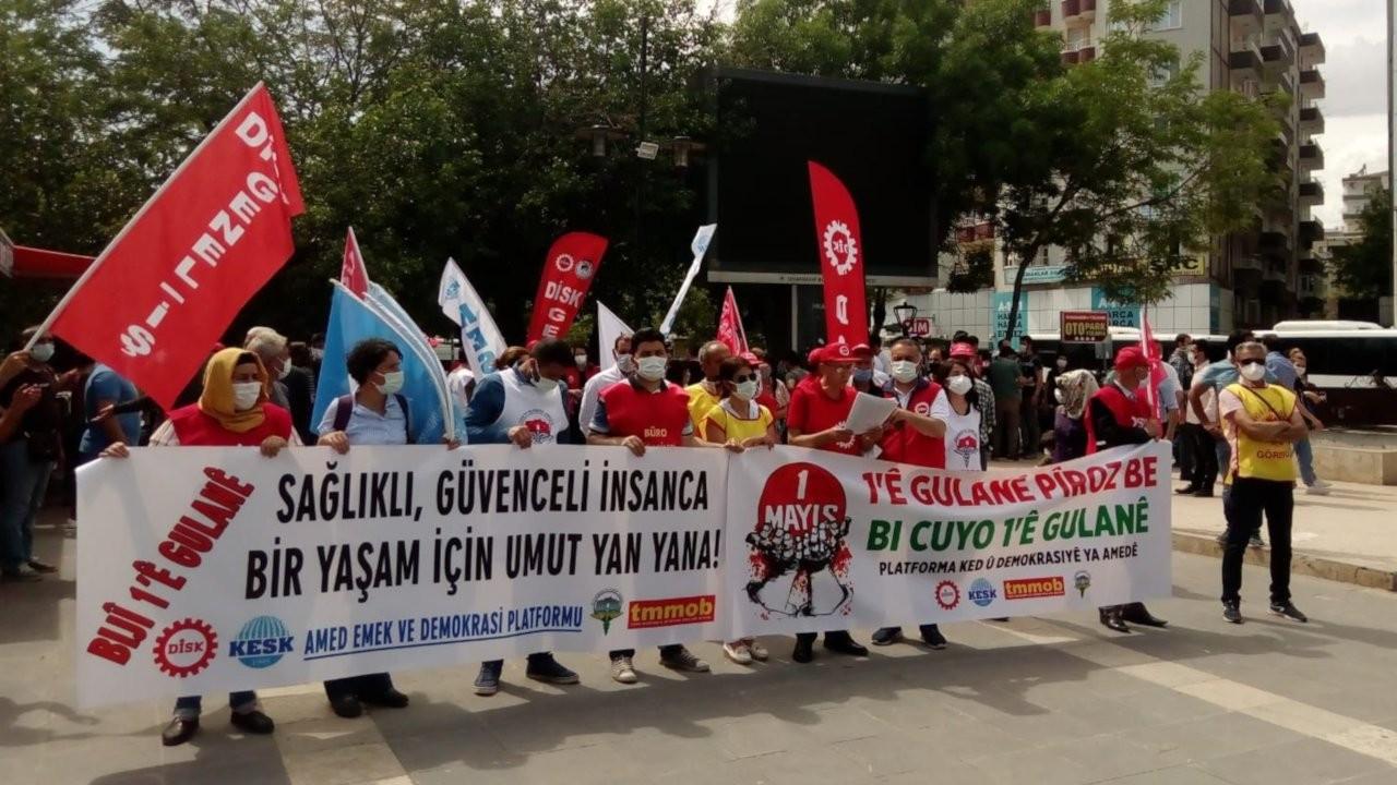 Amed Emek ve Demokrasi Platformu'ndan 1 Mayıs açıklaması: Dört hafta tam kapanmaya gidilsin