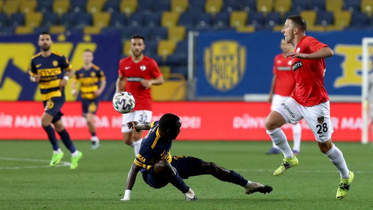 Gaziantep FK tek golle kazandı