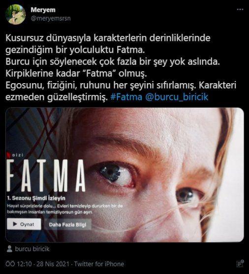 Burcu Biricik ve 'Fatma' gündemde: Psikolojisine bir şey olmazsa bordo berelidir - Sayfa 3