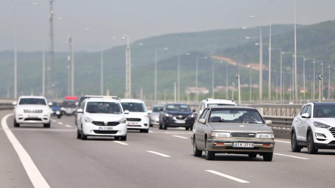 Bolu Dağı Tüneli'nden 2 günde 100 bin araç geçti