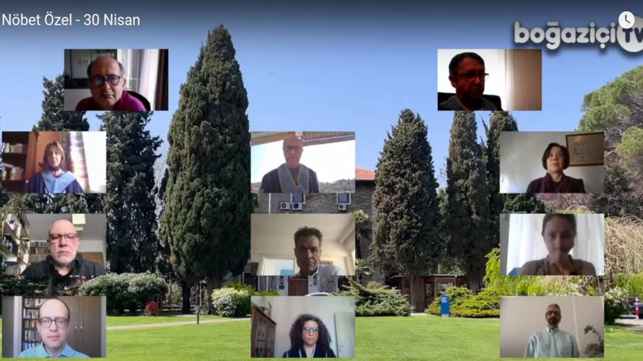 Boğaziçi akademisyenleri nöbeti çevrimiçi sürdürüyor