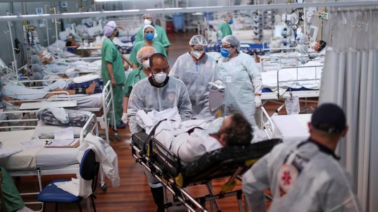 Brezilya'da Covid-19 ölümleri 400 bini geçti