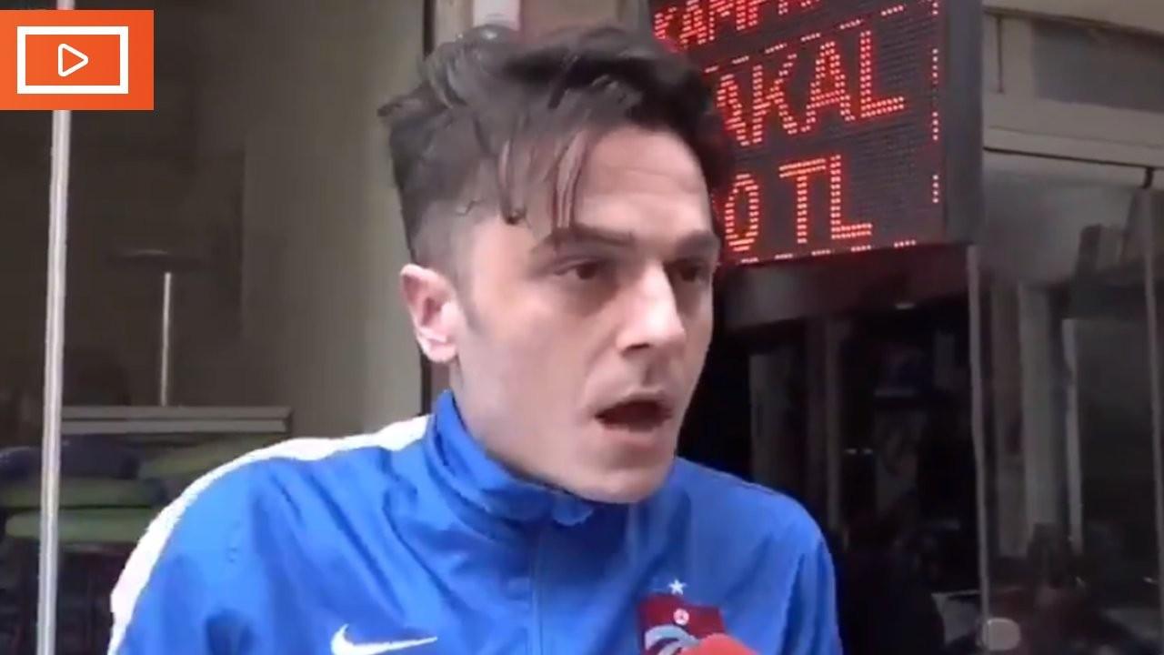 Videosu viral olan Trabzonlu esnaf: Susmayın, doğruları konuşun