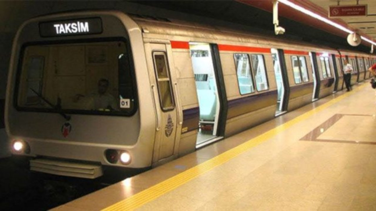 1 Mayıs yasağı: Taksim, Osmanbey, Şişhane metro istasyonları kapatılacak