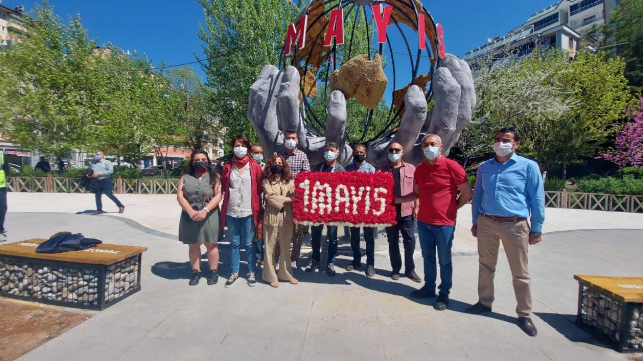 Dersim'de 1 Mayıs Anıtı açıldı