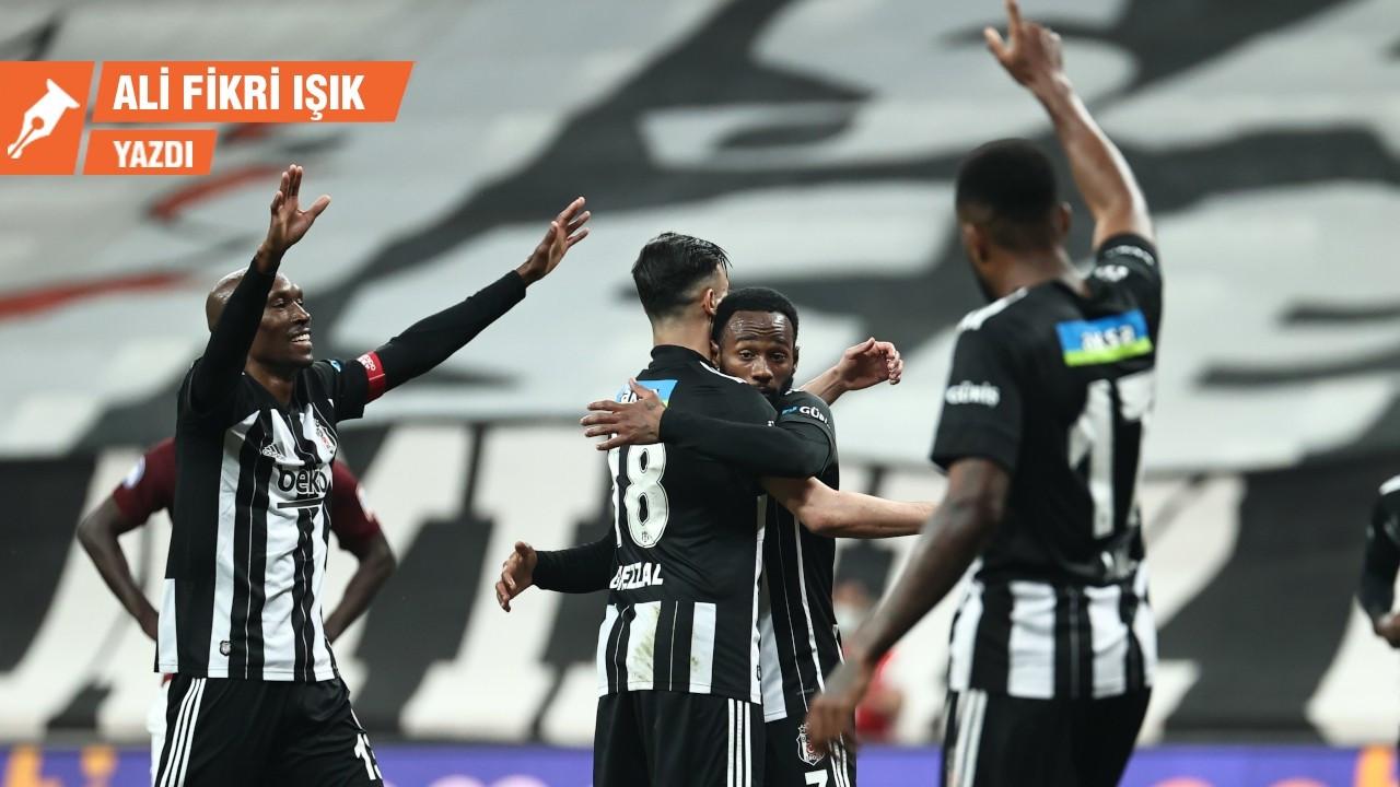 Beşiktaş hakiki bir kartal oldu
