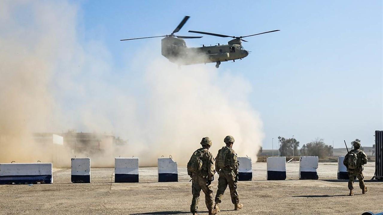Bağdat'ta koalisyona ait üsse roketli saldırı
