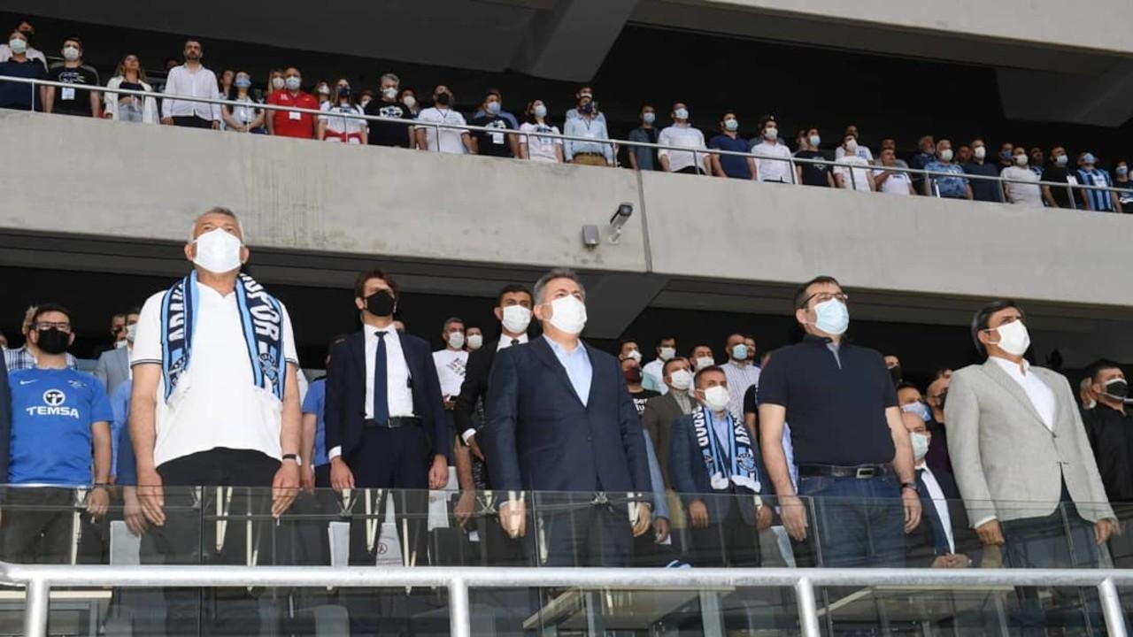 Adana Valiliği: Adana Demirspor maçına görevliler dışında kimse alınmadı