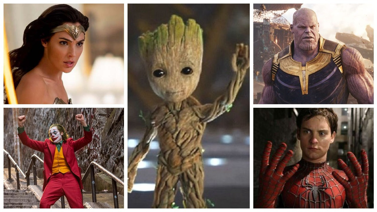 Türkiye'de en popüler süper kahraman Groot oldu