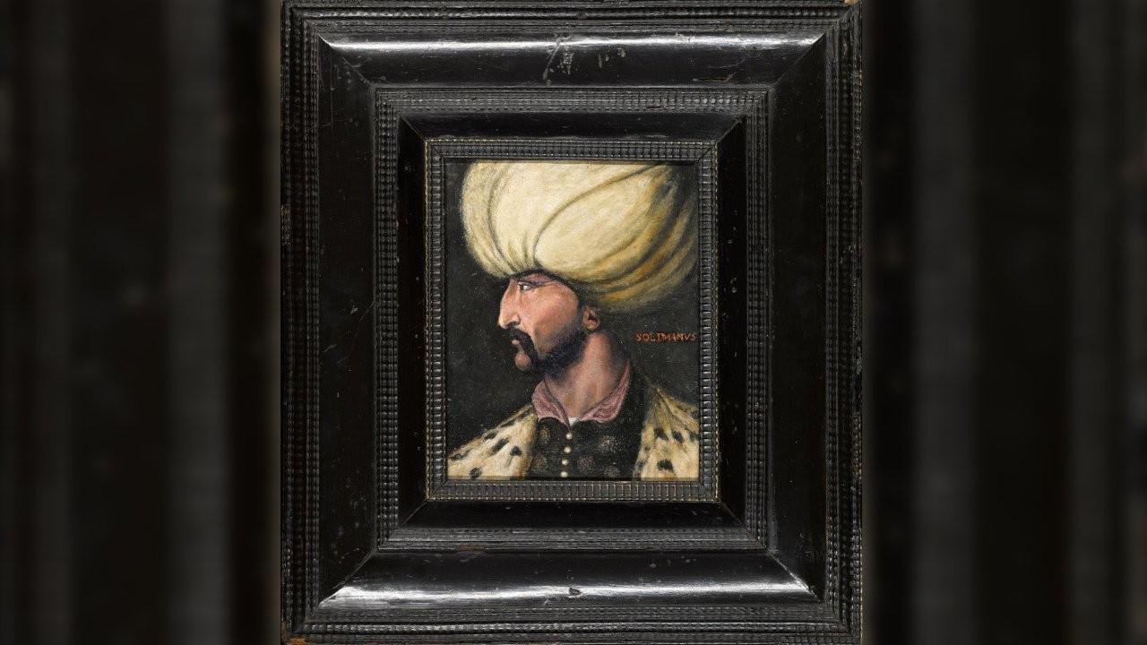 Rekor fiyata satılan Kanuni tablosu İBB'ye bağışlandı