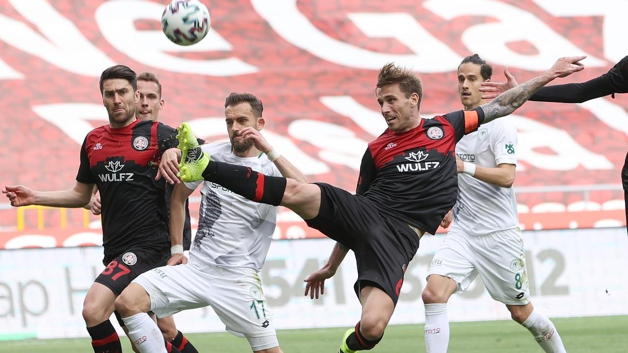 Konyaspor Karagümrük'ü farklı yendi: 5-1