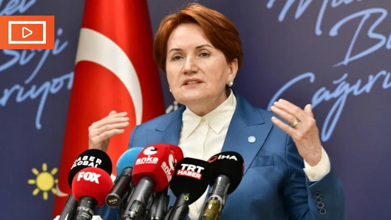 """Akşener: """"En iyi ihtimal Türkiye'mizden herkesi selamlıyorum"""""""