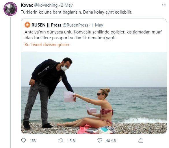 Twitter'da geçen hafta: Türklerin koluna bant bağlansın.... - Sayfa 2