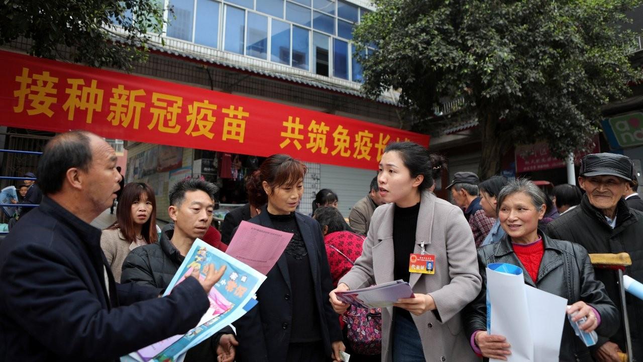 Çin'de yapılan aşı sayısı 275.34 milyon doza yükseldi