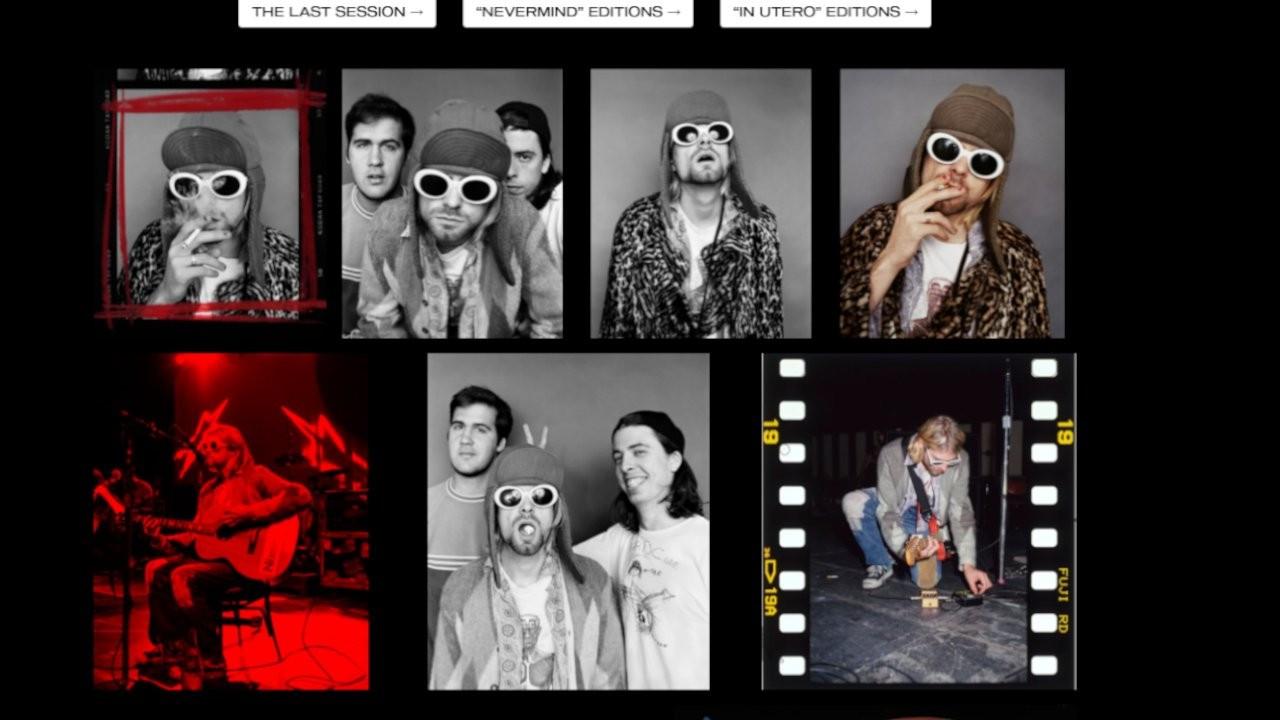 Kurt Cobain'in fotoğrafları NFT olarak satılıyor