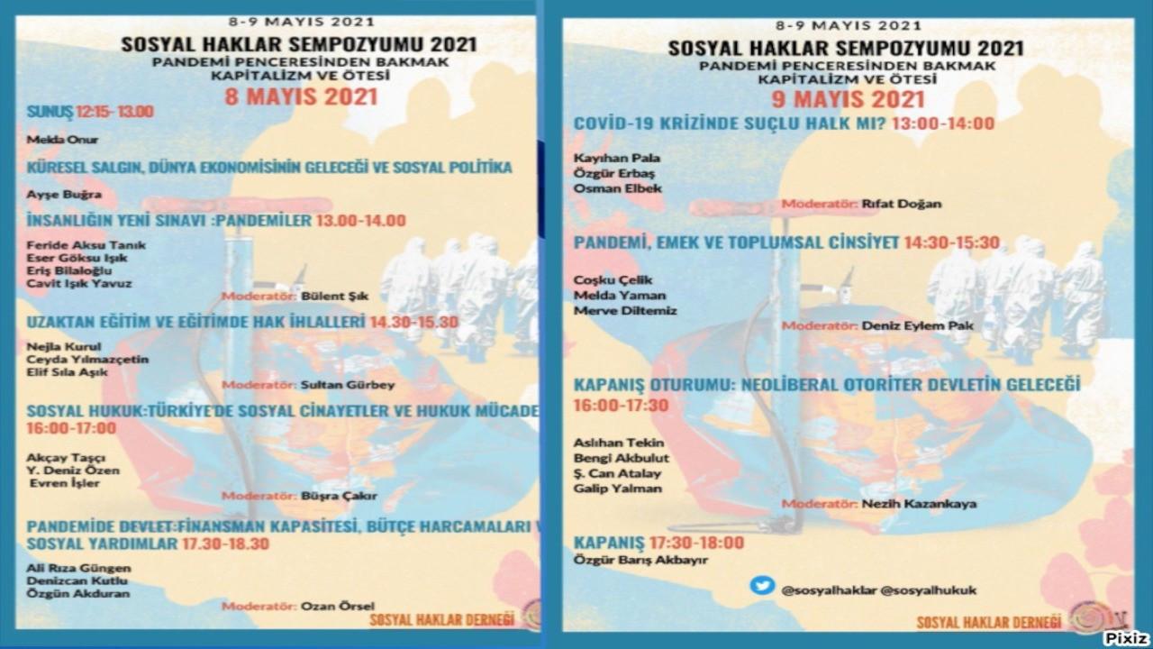 Sosyal Haklar Sempozyumu 8-9 Mayıs'ta düzenlenecek
