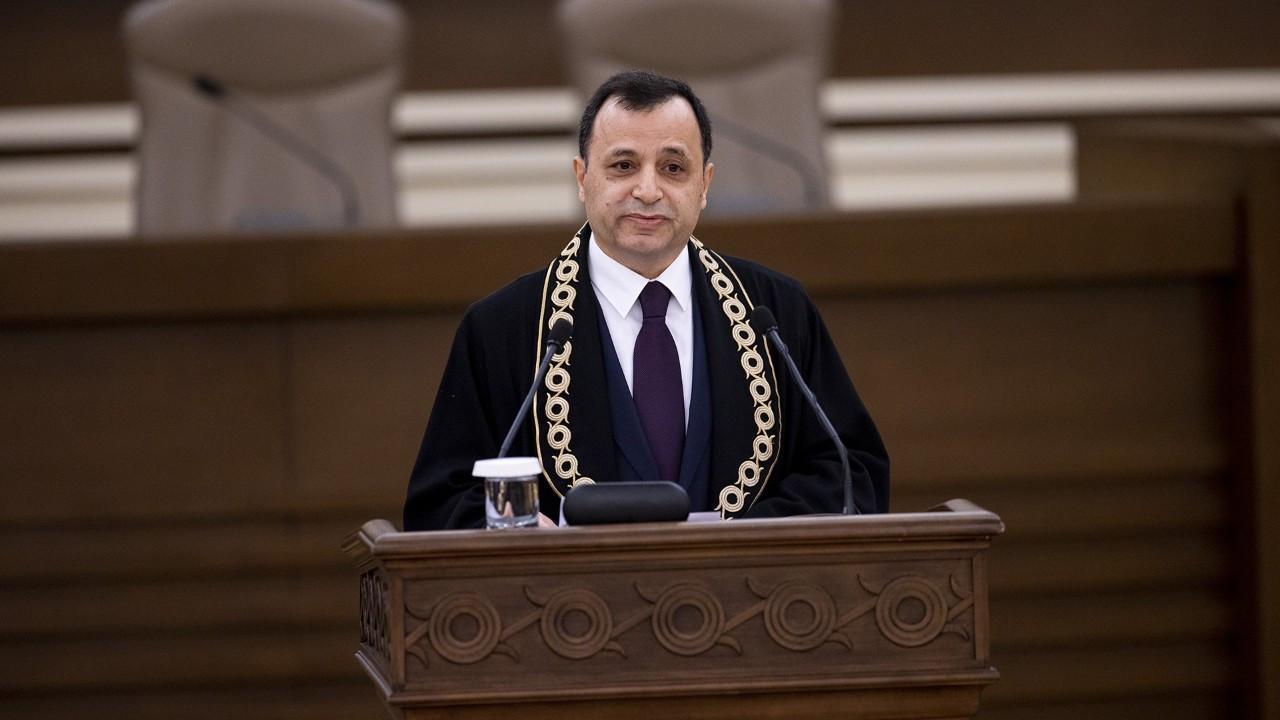 AYM Başkanı Arslan: İş yükü konusunda tek rakibimiz AİHM