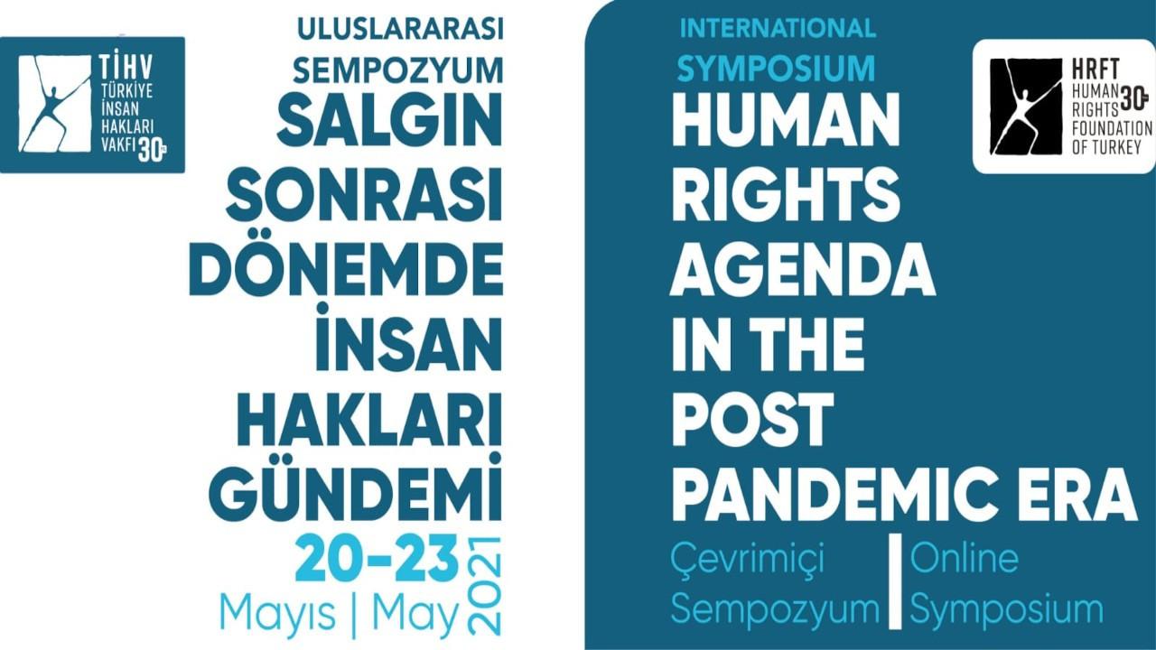 'Salgın Sonrası Dönemde İnsan Hakları Gündemi' sempozyumu düzenlenecek