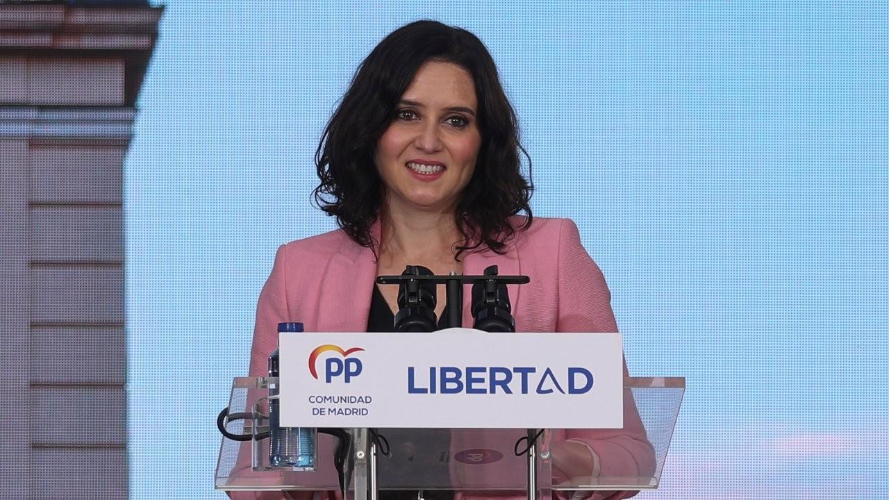 Madrid seçimlerini kapanma karşıtı muhafazakar aday kazandı