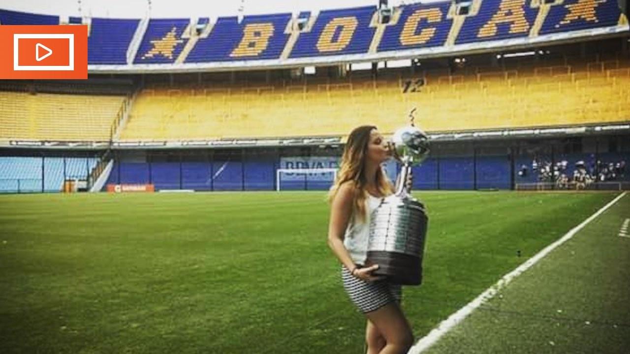 Cansel Kemiksiz Brezilya'da futbol yorumcusu oldu