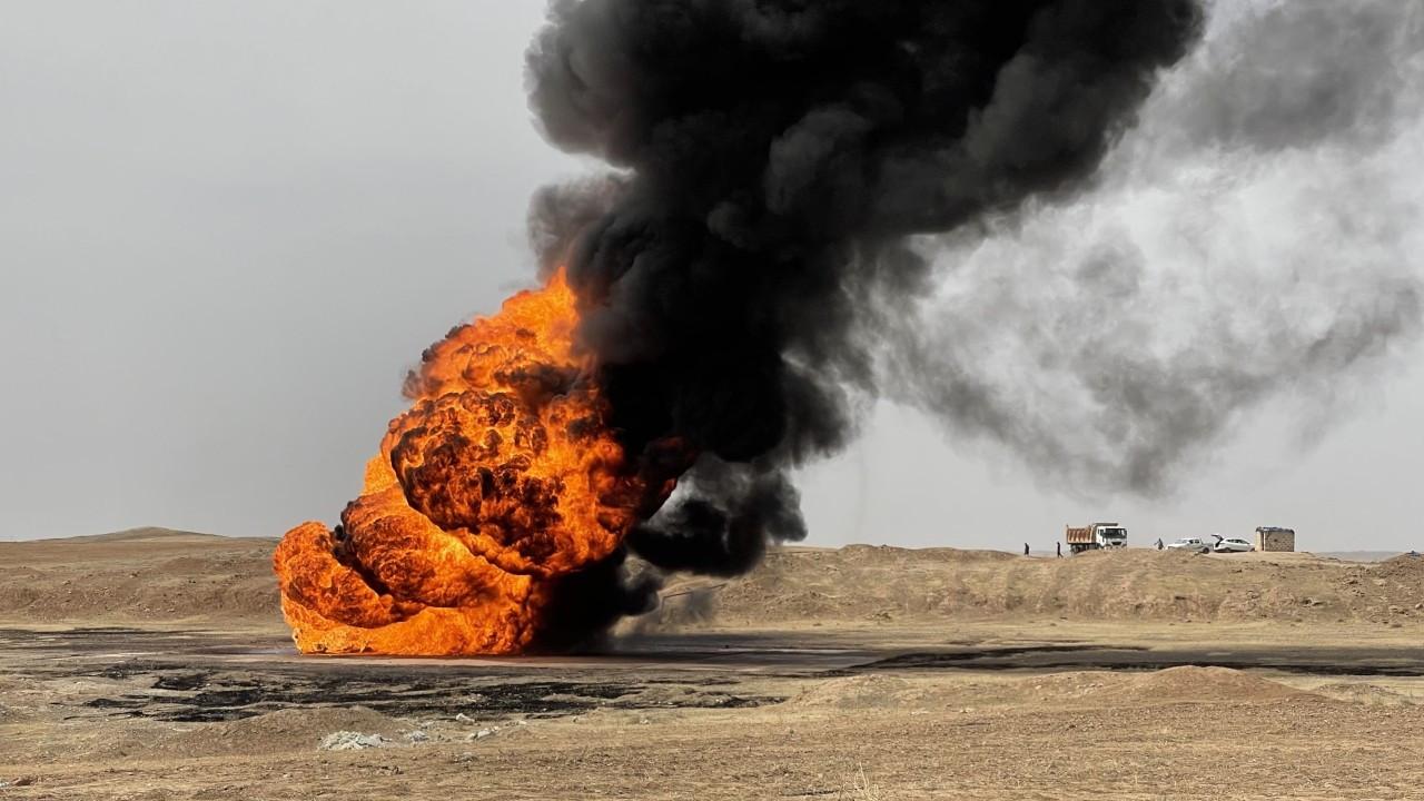 Kerkük'teki petrol kuyularına IŞİD saldırısı: 1 ölü, 2 yaralı