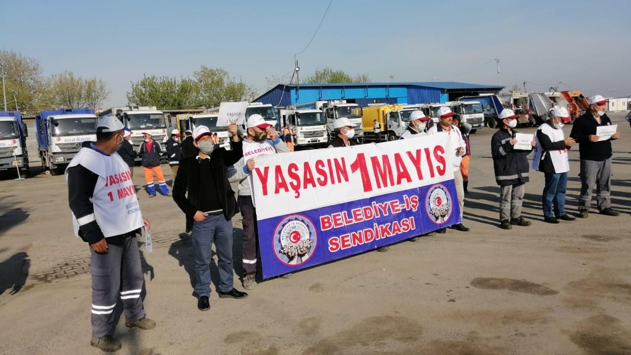 1 Mayıs İstanbul'da 400 noktada kutlandı