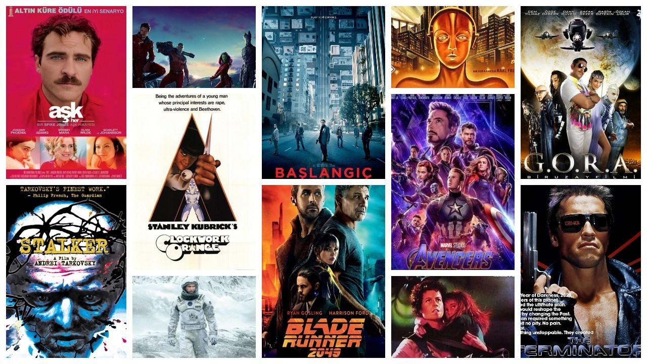 IMDb'ye göre en yüksek puanlı 50 bilim kurgu filmi
