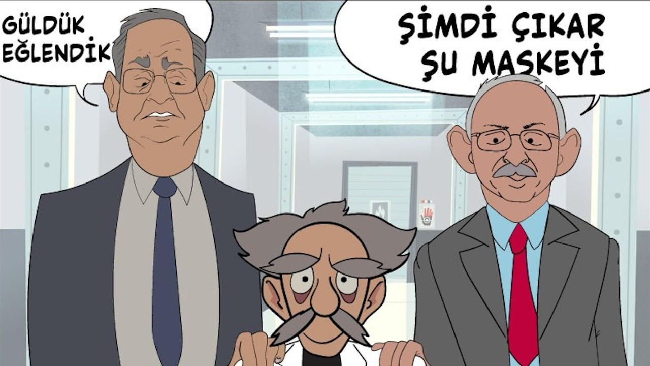 CHP'den AK Parti'ye 'animasyon' yanıtı: Haydi çıkar maskeni...