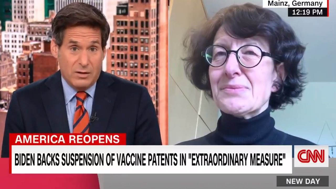 Özlem Türeci: Aşı patentinin askıya alınması iyi bir fikir değil