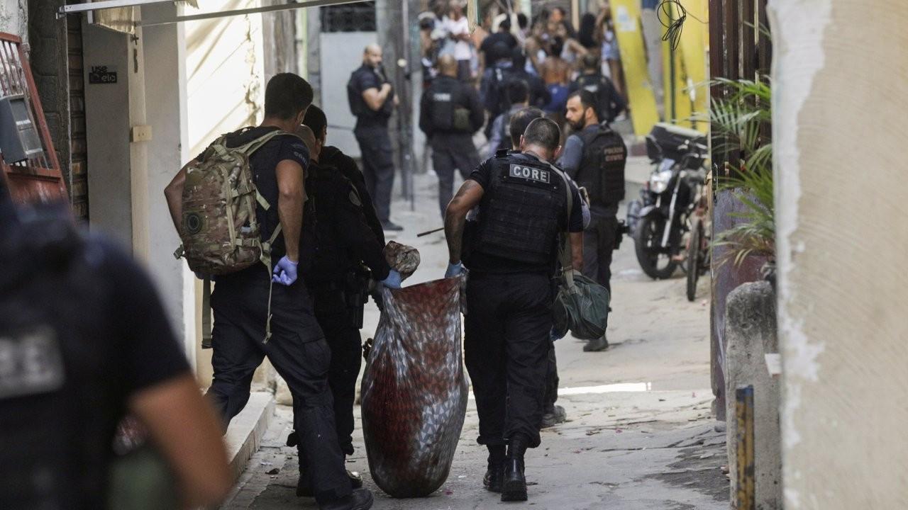 BM'den Rio'da 25 kişinin öldüğü operasyonla ilgili soruşturma talebi
