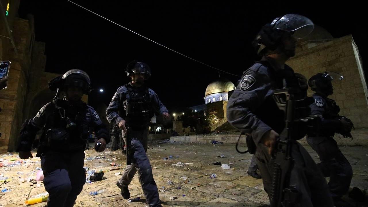 Türkiye'den İsrail'e tepki: İsrail güçleri Mescid-i Aksa'yı terk etmeli
