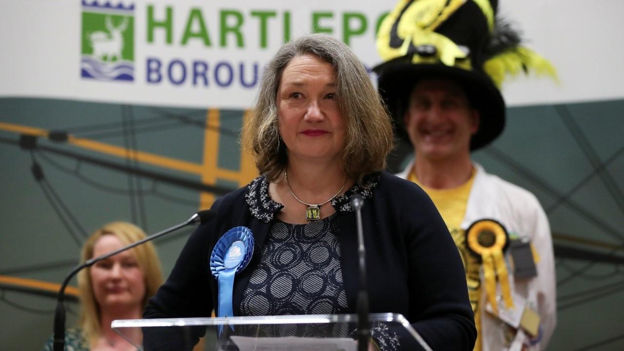 İngiltere'de Muhafazakar Parti, Hartlepool'da ilk kez seçim kazandı