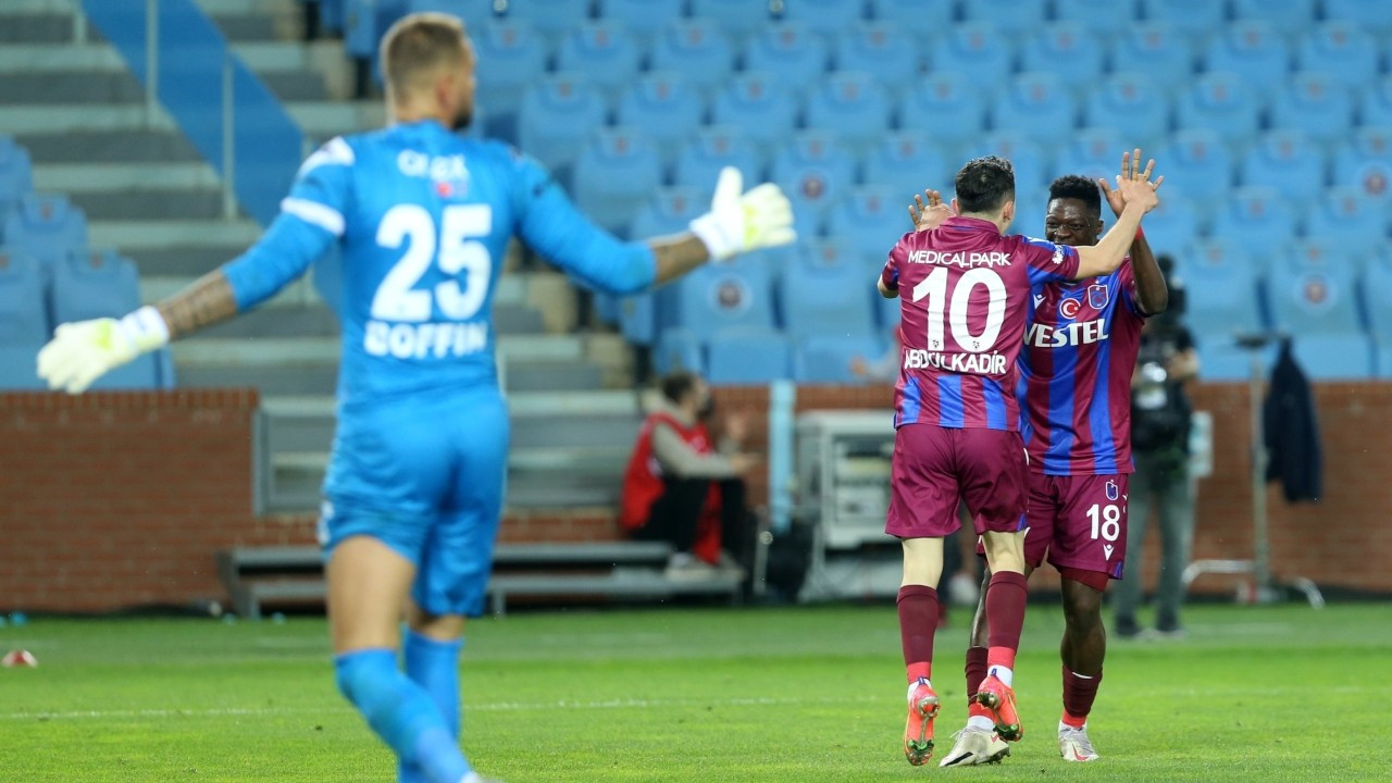 Trabzonspor evinde galip: 2-1