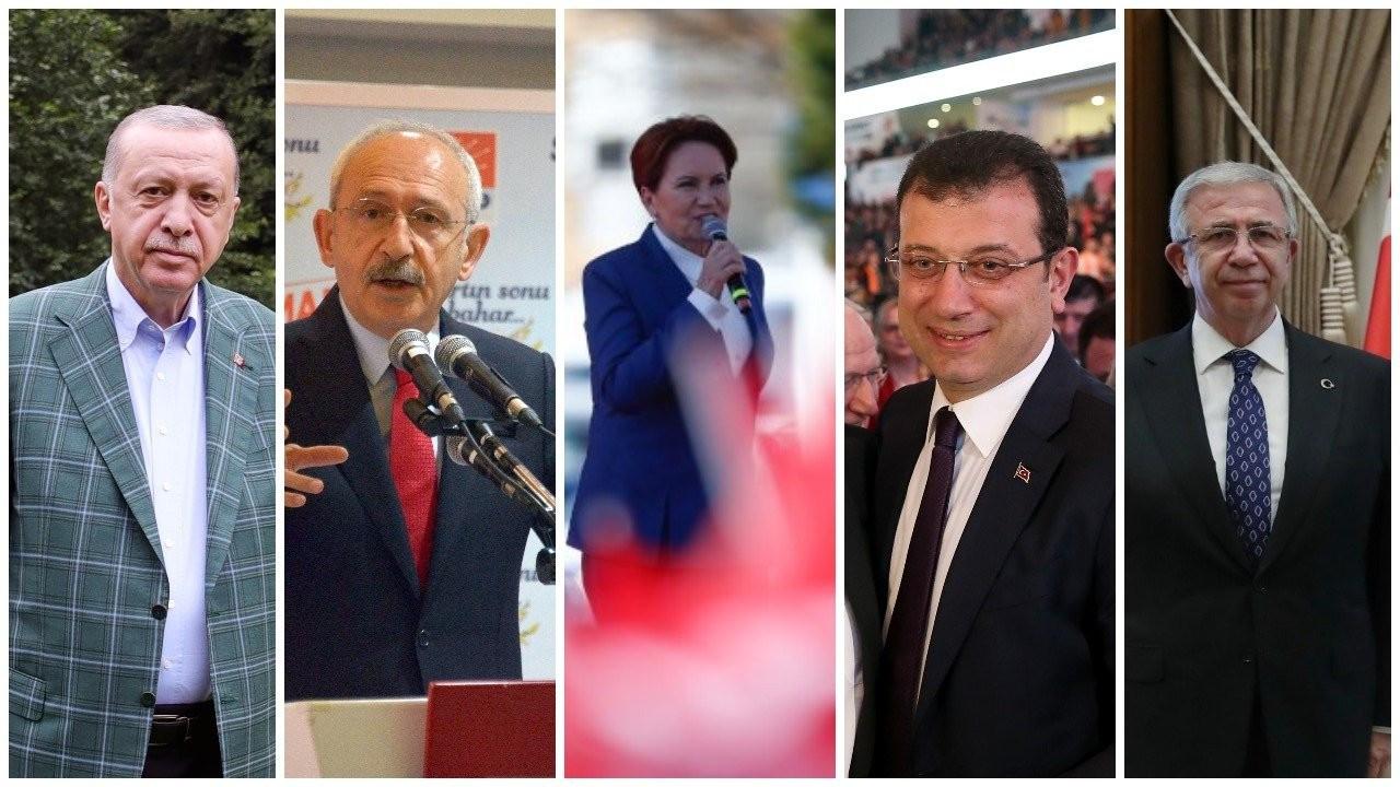 Anket sonucu: Erdoğan sadece Kılıçdaroğlu'na karşı kazanabiliyor