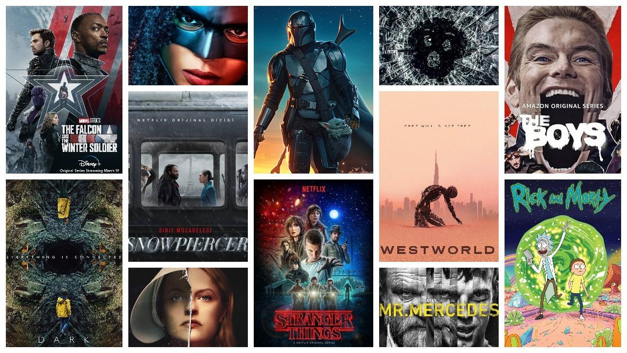IMDb'ye göre en popüler 50 bilim kurgu dizisi