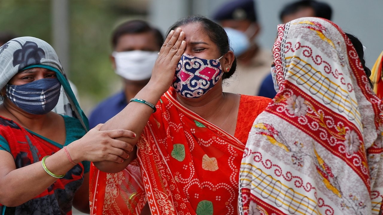 Hindistan'da Covid'i atlatanlar arasında 'kara mantar' salgını