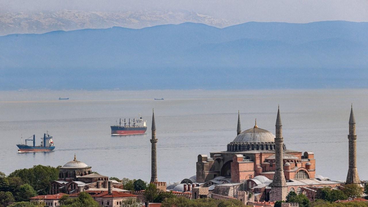 İstanbul'dan yine Uludağ manzarası görüldü