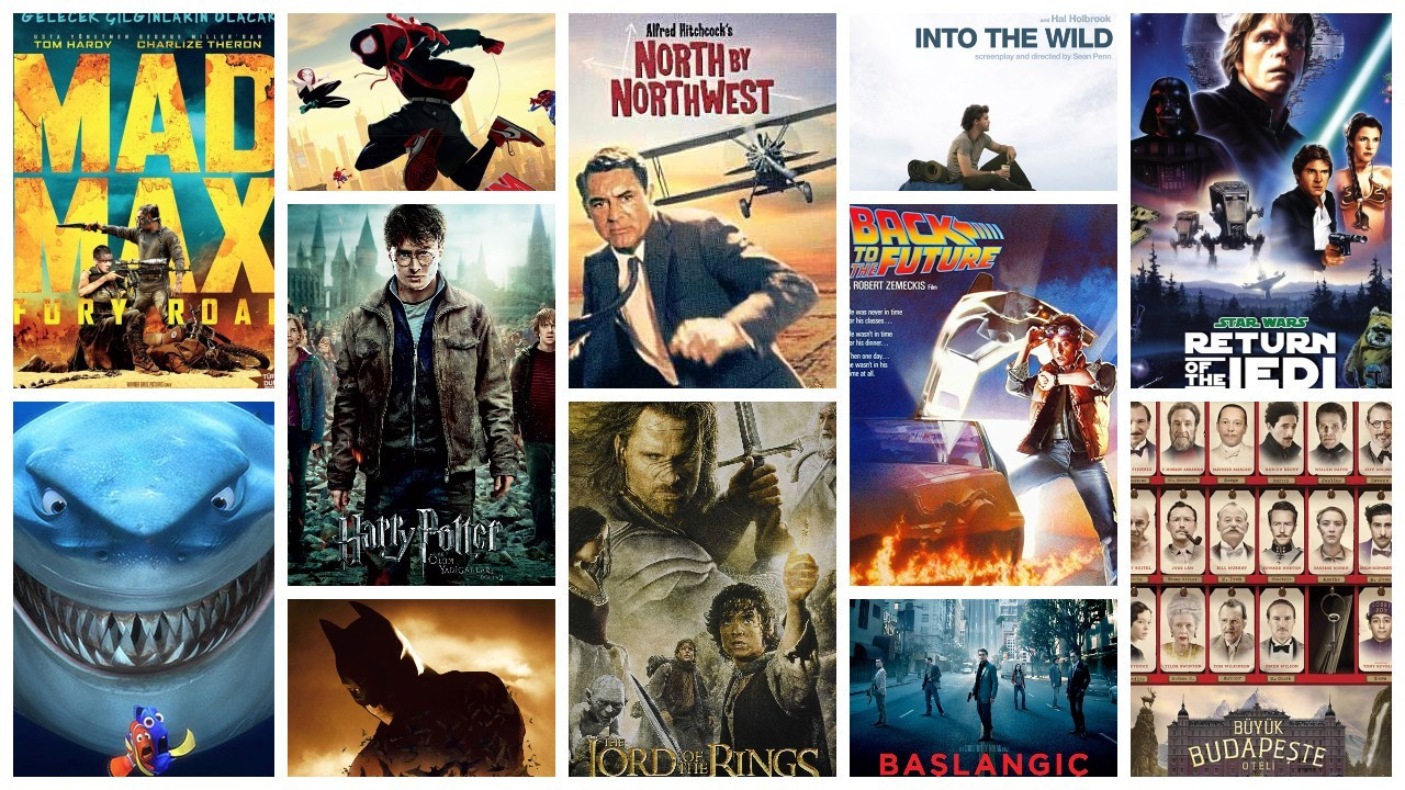 IMDb'ye göre en yüksek puanlı 50 macera filmi