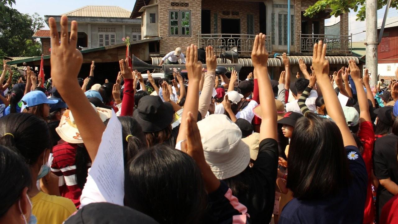 BM'den Myanmar'da askeri darbeye karşı 'silah ambargosu' çağrısı