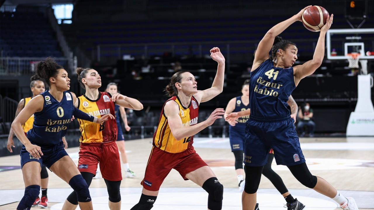 Kadınlar Basketbol Ligi'nde şampiyon Fenerbahçe Öznur Kablo oldu