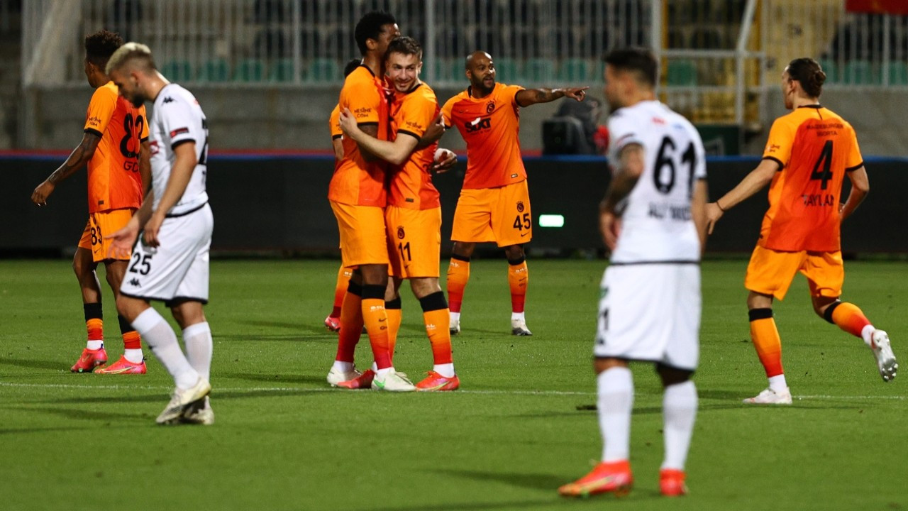 Süper Lig'de haftanın kazananı Galatasaray