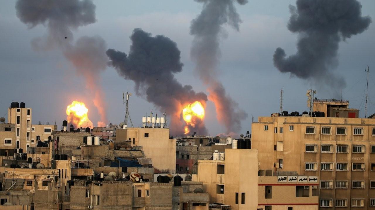 İsrail'in Gazze'deki hava saldırılarında 9'u çocuk 24 kişi öldü