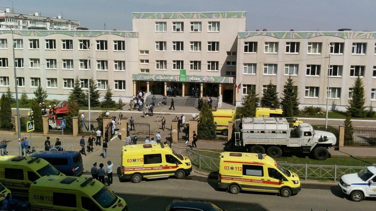 Tataristan'da okula silahlı saldırı: En az 11 kişi öldü