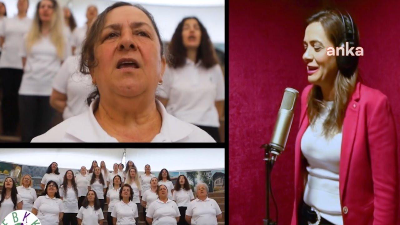 Kadınlardan İstanbul Sözleşmesi'ne türkülü destek