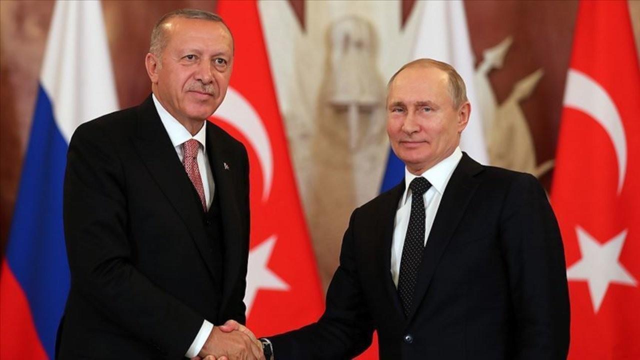 Erdoğan ile Putin görüştü: İsrail'e caydırıcı bir ders verilmeli