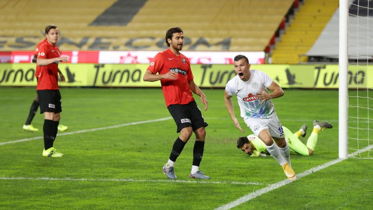 Gaziantep'te gol düellosu: 4-5