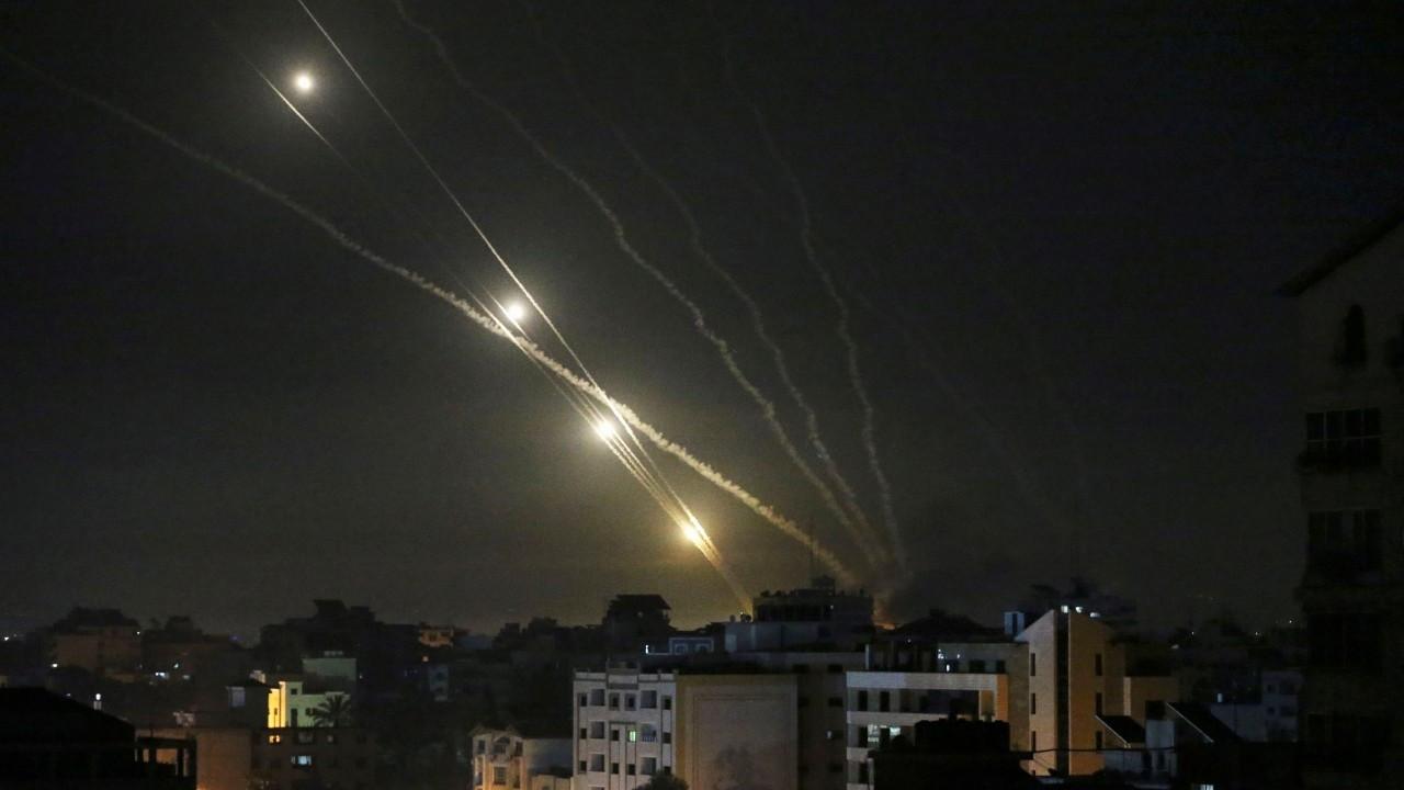 Gazze'den İsrail'e roket atıldı: 7 kişi yaralandı